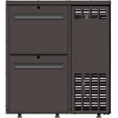 TC BBCL1-5 | Barová chladnička s dvomi zásuvkami rôznej výšky