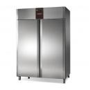 TN 1400 PERFEKT | Dvojdverová chladnička s plnými dverami, nerezová