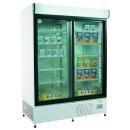 ECO+ C1200 - Cooler with sliding glass doors and display