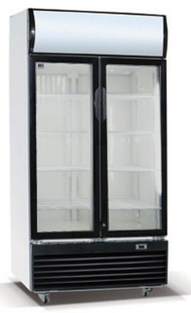 600f Glass Door Cooler