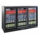 LG 330S - Barová chladnička s tromi sklenenými dverami