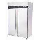 MBF8117 dvojdverová nerezová chladnička