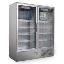 SCH 800/S INOX - Cooler with double glass doors