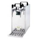 KONTAKT 40/K Profi - Dry contact double coiled beer cooler with built-in air compressor