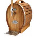SOUDEK 30/K Barrel-like single coiled beer cooler with built-in air compressor