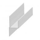Stoličkový profil hliník k 20 mm panelu