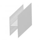 H profil hliník k 20 mm panelu