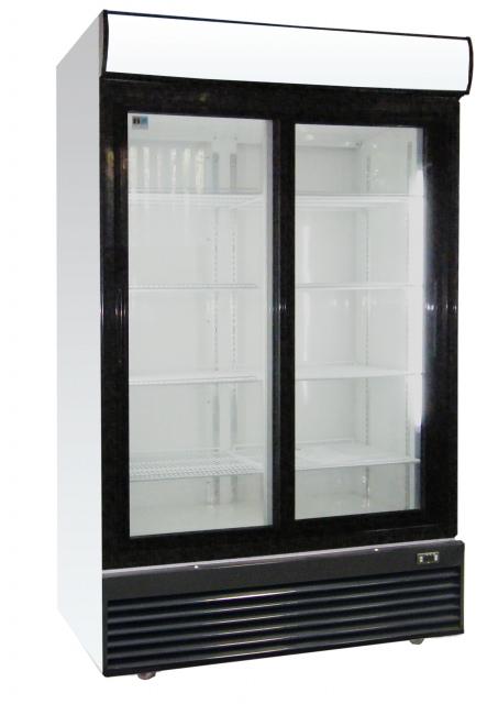 LG-1000BFS - Vitrína s posuvnými dverami. NAJPREDÁVANEJŠÍ MODEL !!!