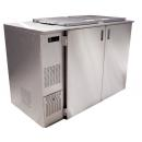 Chladič odpadu pre dve nádoby